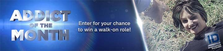 Investigation Discovery Addict of the Month Win a Walk-On Role Sweepstakes