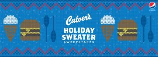 Culver's Holiday Sweater Sweepstakes