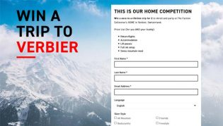 Faction Skis Trip to Verbier Sweepstakes