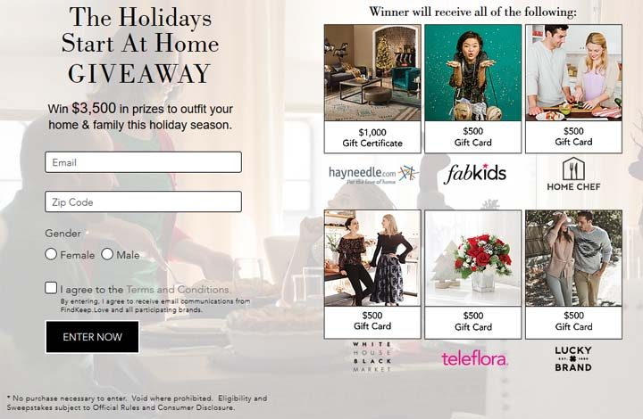 holidays-sweepstakes