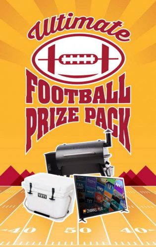 Mountain America Credit Union Ultimate Football Prize Pack Giveaway
