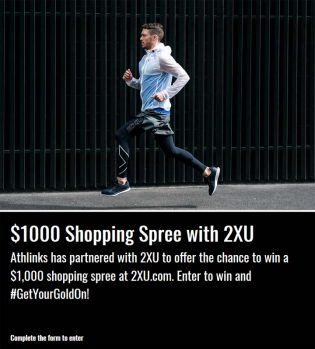 $1,000 Shopping Spree with 2XU Contest