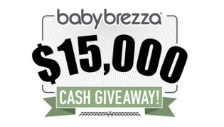 Baby Brezza $15,000 CASH Giveaway Sweepstakes