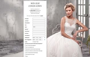 Mary's Bridal Cover Gown Sweepstakes