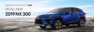 Win a 2019 Lexus NX 300 Contest