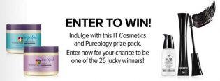 Pureology X IT Cosmetics Sweepstakes