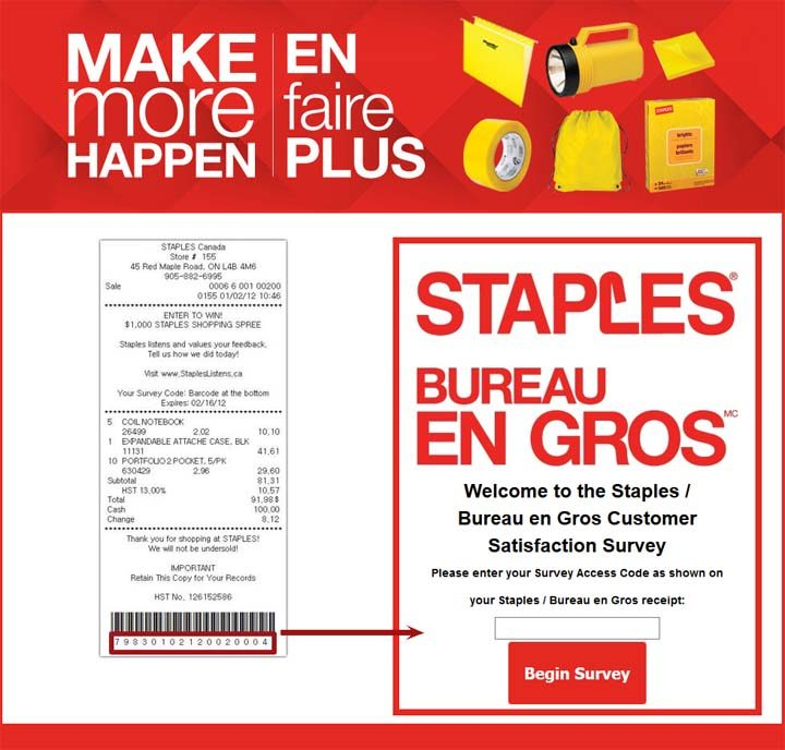 staples-survey
