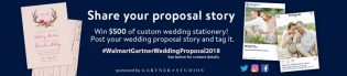Walmart Winter Wedding Proposal Sweepstakes