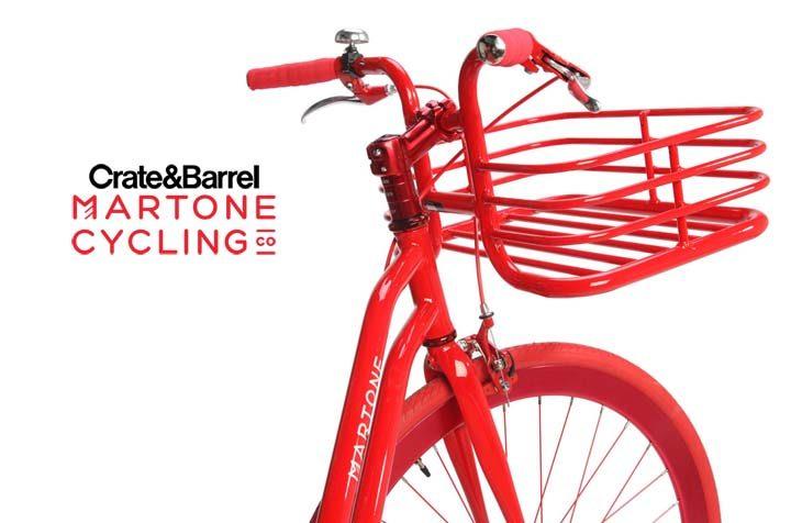 Crate and Barrel Martone Bike Sweepstakes