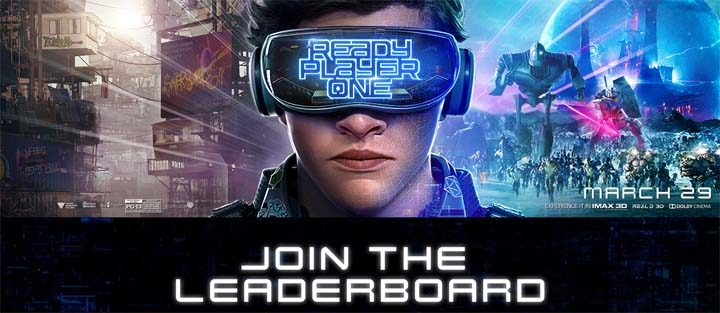 Warner Bros. Ready Player One: Join the Leaderboard Sweepstakes