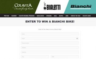 Win a Bianchi Bike Sweepstakes