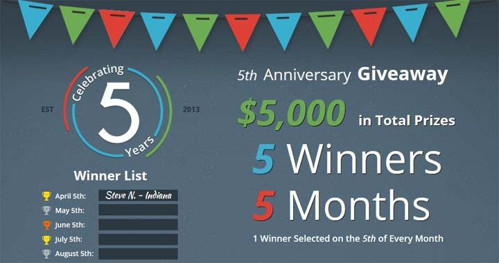 debt-5th-anniversary-giveaway