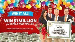 PCH Win It All $1,000,000 Lump-Sum $1,000 A-Week-For-Life plus a Brand New Ford Explorer Platinum Giveaway