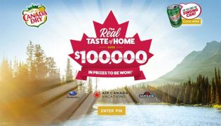 Canada Dry Real Taste of Home Contest