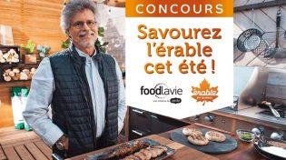 Concours Zeste foodlavie Savourez l'érable cet été