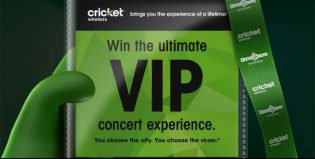 Cricket Consumer Choice Flyaway Sweepstakes