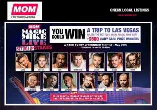 MOM's Magic Mike StripStakes Sweepstakes