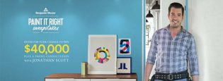 HGTV Benjamin Moore's Paint it Right Sweepstakes