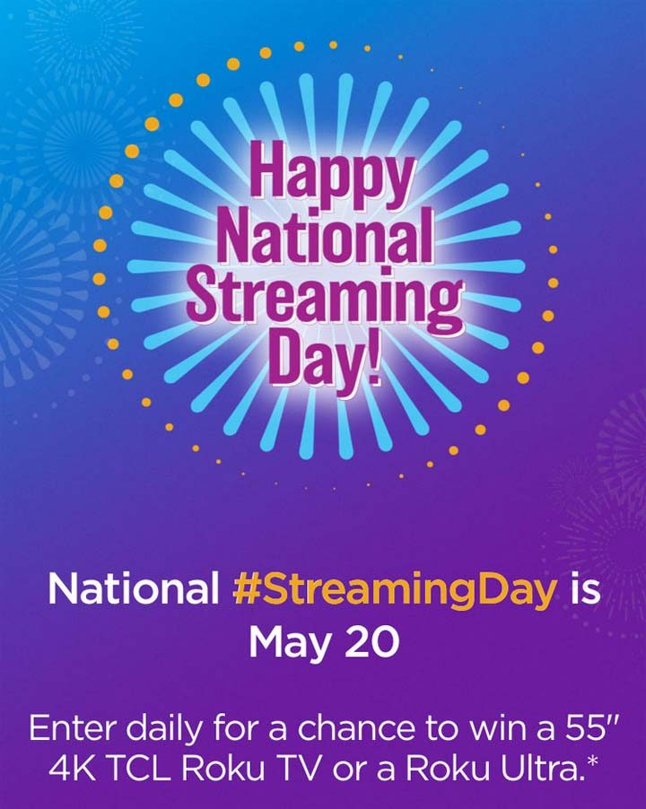 National Streaming Day Sweepstakes