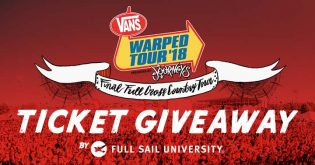 Full Sail University Vans Warped Tour Ticket Giveaway