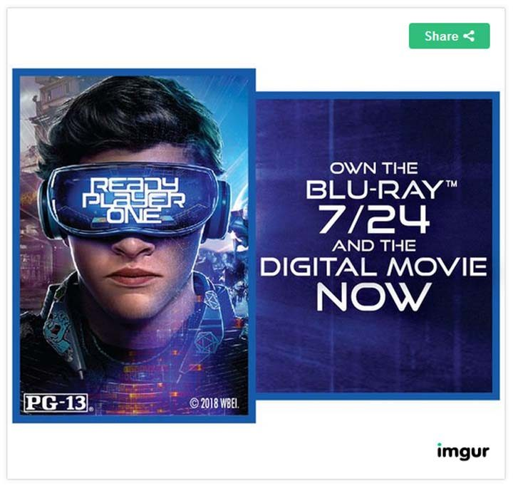 Red Roof's Ready Player One Give Away Sweepstakes