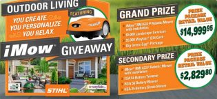 STIHL Club Outdoor Living iMow Giveaway Contest