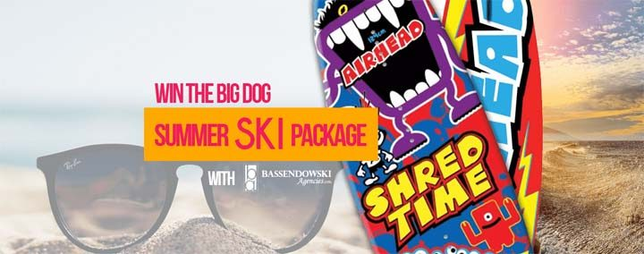 Big Dog 92.7 Summer Ski Package Contest