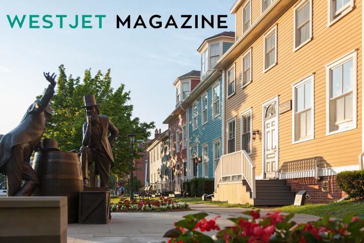 WestJet Magazine Trip to Charlottetown Contest