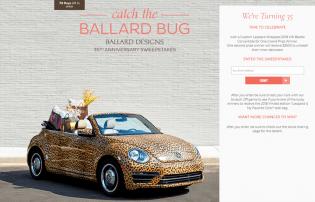 Catch the Ballard Bug Sweepstakes