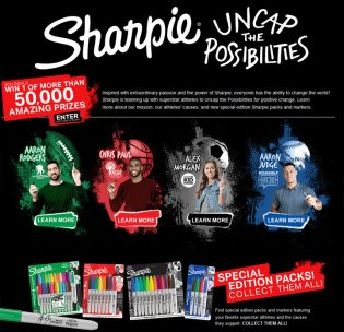 Sharpie Uncap The Possibilities Sweepstakes
