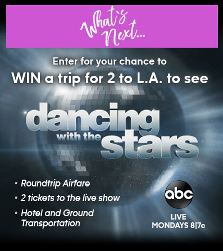 dancing-with-the-stars-sweepstakes