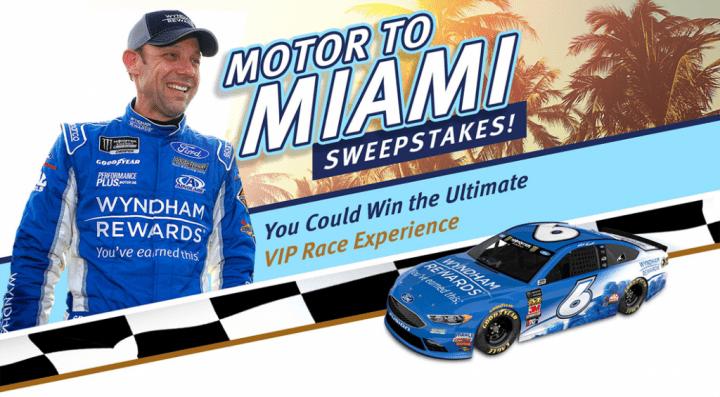 Wyndham Rewards Motor to Miami Sweepstakes