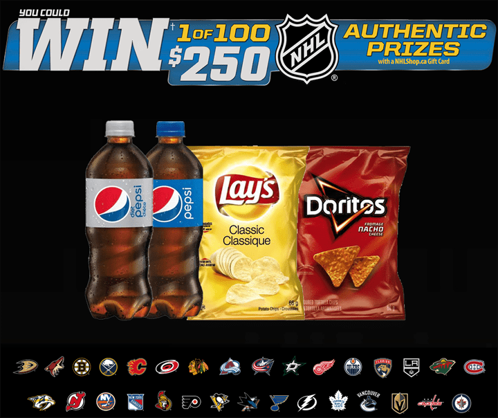 Pepsi and Lay's Gear Up for Puck Drop Contest