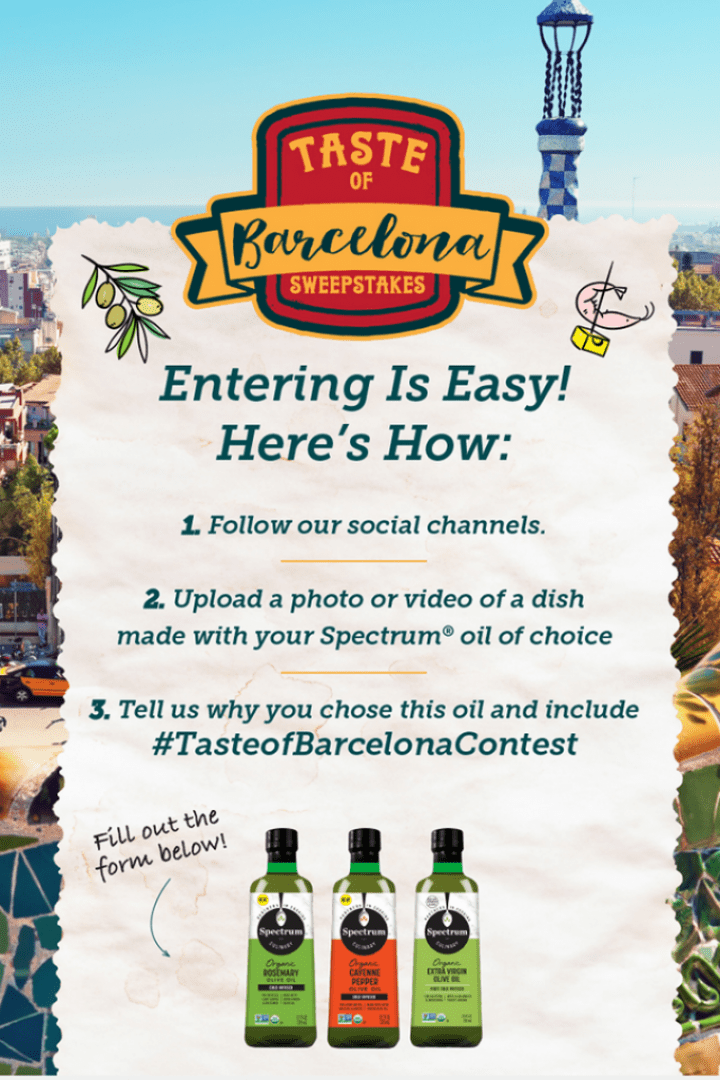 Spectrum Taste of Barcelona Contest