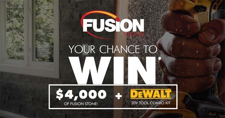 You could WIN $4,000 worth of FUSION STONE Contest