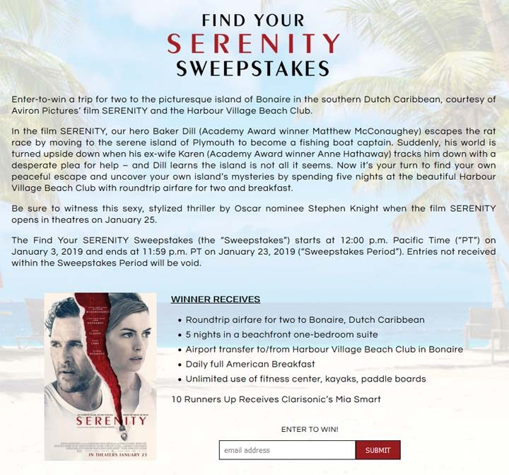 find-your-serenity-sweepstakes