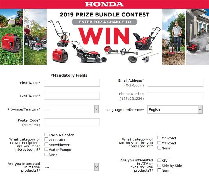 honda-prize-bundle-contest