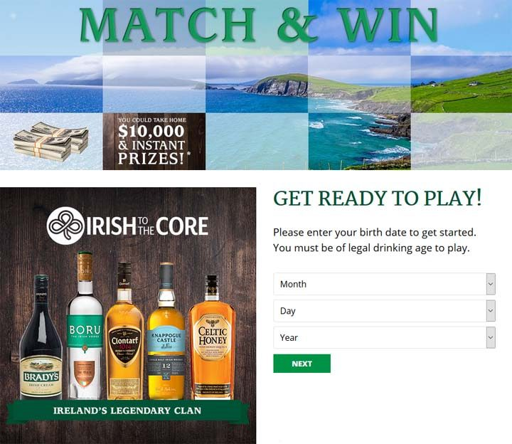 irish-to-the-core-sweepstakes