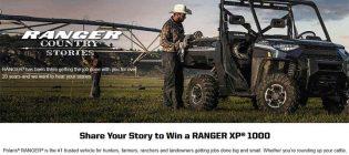 Polaris Ranger Stories Sweepstakes
