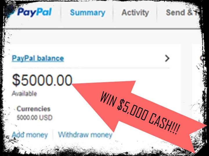Launch Party Giveaway - Win $5,000 CASH! - Enter here now