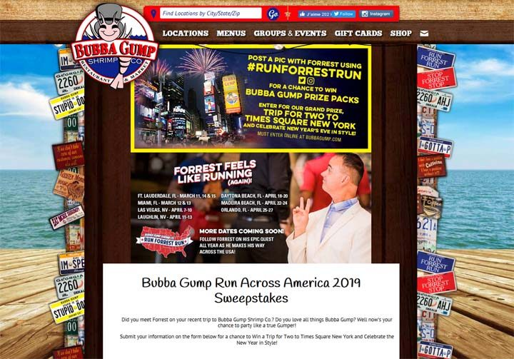 bubba-gump-sweepstakes