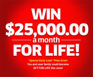 PCH com Win $25,000 00 A-Month-For-Life SuperPrize Giveaway