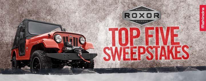 roxor-top-five-sweepstakes