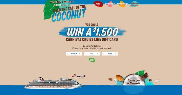 almond-joy-cruise-sweepstakes
