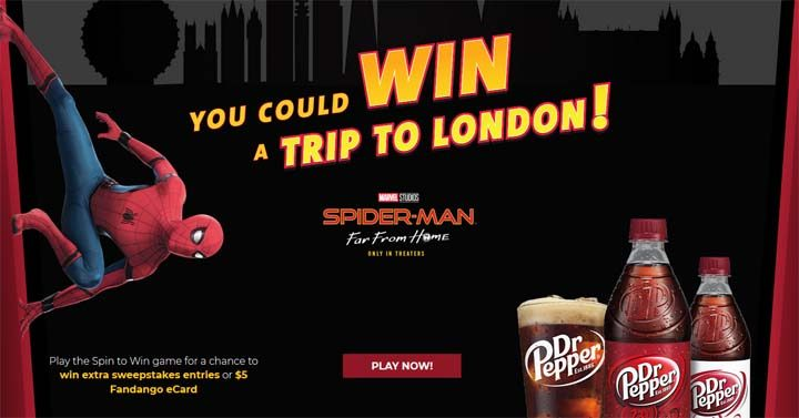 dr-pepper-spider-man-london-sweepstakes