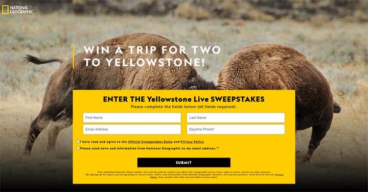 national-geographic-yellostone-sweepstakes