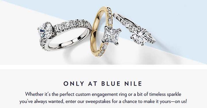 Blue Nile Summer $10,000 Shopping Spree Sweepstakes