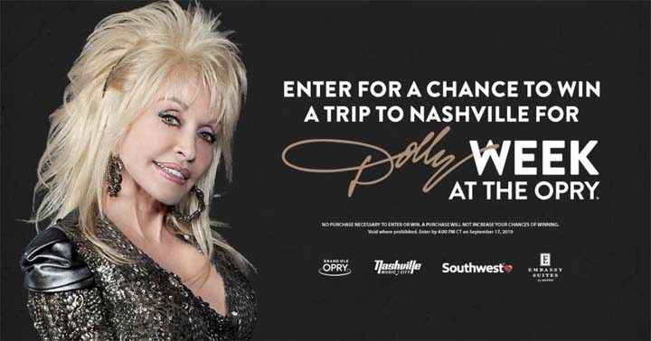 Dolly Week Sweepstakes