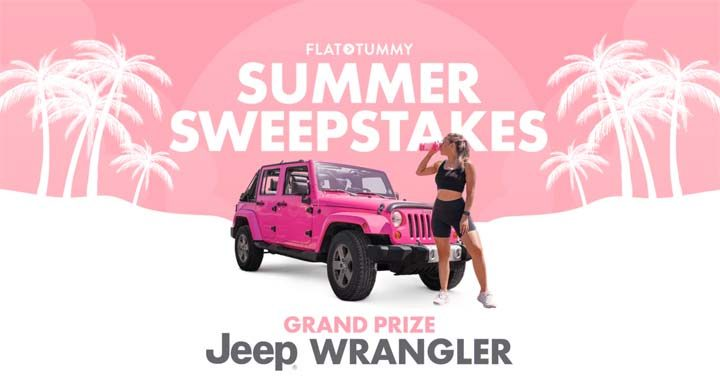 Flat Tummy Summer Sweepstakes