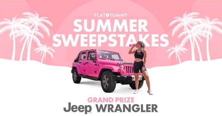Flat Tummy Summer Sweepstakes